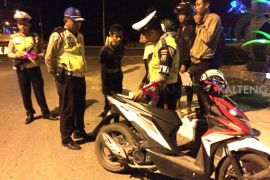 Marak balap liar, Polres Pulpis tahan sepeda motor