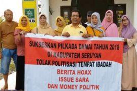 Paslon Sudarsono-Hairil Yadi sepakat menolak isu SARA di Pilkada Seruyan [VIDEO]