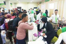 Penumpang di Bandara Tjilik Riwut meningkat tajam