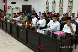 DPRD gelar paripurna penyampaian visi-misi peserta Pilkada
