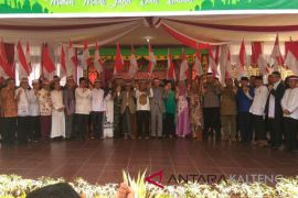 Tokoh Agama apresiasi halalbihalal kebangsaan Polda Kalteng
