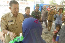 Pasar murah Pulpis di 6 kecamatan untuk tekan gejolak harga