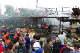 Penyebab kebakaran pasar Tampung Untung Palangka Raya masih diselidiki [VIDEO]
