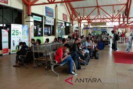 Perkiraan puncak arus mudik di Bandara Tjilik Riwut