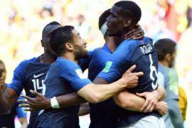 Gol unik Pogba bawa kemenangan Prancis atas Australia