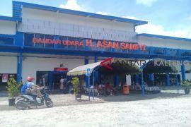 Pagar Bandara H Asan Sampit belum memenuhi standar