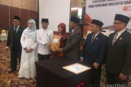 Fairid-Umi ditetapkan pimpin Palangka Raya periode 2018-2023
