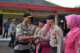 23 polisi di Barito Utara naik pangkat