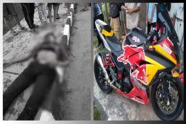 Seorang pemuda di Pulpis tewas usai tabrak trotoar