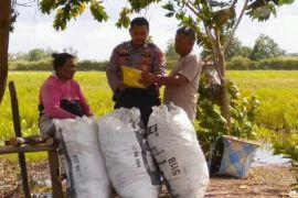 Berbagai cara dilakukan Polres Seruyan dalam sosialisasi larangan bakar lahan
