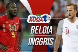 Siapa juara ketiga di Piala Dunia, berikut prediksi Belgia vs Inggris