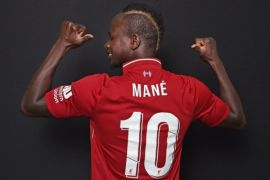 Ini alasan Mane inginkan nomor punggung 10 di Liverpool