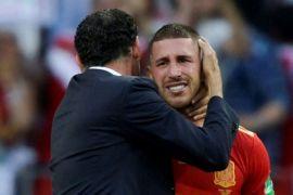 Sergio Ramos menangis, Hierro tak menyesal Spanyol tersingkir di Piala Dunia