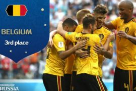 Belgia finis peringkat ketiga Piala Dunia 2018