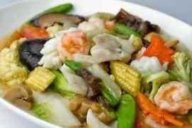Intip resep capcay sehat dan lezat