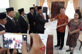 KPU Gumas tetapkan Jaya-Efrensia jadi Bupati-Wakil Bupati terpilih
