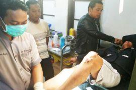 Berusaha kabur, polisi terpaksa tembak seorang pencuri