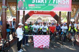 Sepeda Nusantara jadi ajang pengenalan olahraga tradisional Dayak