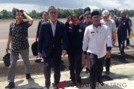 Menteri Kehutanan Korsel kunjungi hutan tanaman industri Kobar