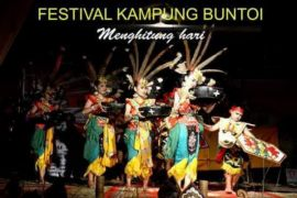Ratusan seniman se-Indonesia ramaikan Festival Kampung Buntoi 2018