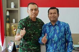 Kadin Kotim bersinergi dengan TNI dukung stabilitas ekonomi daerah
