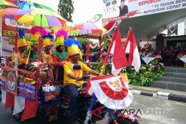 Masyarakat Kotim ikut meriahkan Asian Games