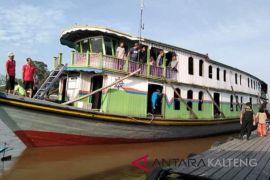Sempat surut, Sungai Barito sudah bisa dilayari kapal