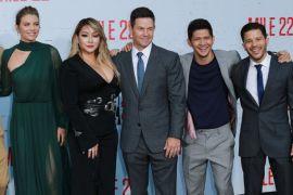 Pemutaran perdana film 'Mile 22', Iko Uwais disambut penggemarnya di LA