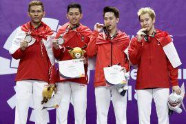 Indonesia peringkat empat sementara perolehan medali Asian Games