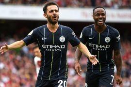 Manchester City berhasil pecundangi Arsenal di pekan pembuka