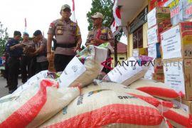 Ini daftar bantuan Polda Kalteng untuk gempa di Lombok