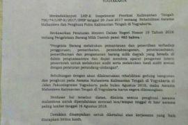 Cara pengosongan Asrama mahasiswa Kalteng di Yogyakarta menuai kritik