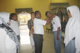 Diklat bangun karakter pada peserta Paskibraka Sukamara