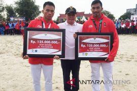 Gubernur beri bonus kepada atlet asal Kalteng Rp250 juta
