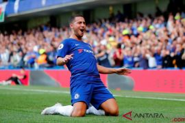 Hattrick Hazard antar Chelsea menang atas Cardiff City