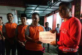 Terkumpul Rp260 juta bantuan Kotim untuk korban gempa Lombok
