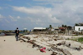 Pemkab berharap DPR setujui penanganan abrasi Pantai Ujung Pandaran