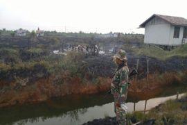 Waspada, kebakaran lahan di Kapuas sudah menghanguskan lima rumah