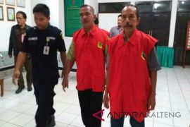 Kejari Barito Timur kembali menahan dua mantan kepala desa