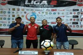 Kalteng Putra pastikan jaga ketat pemain Madura FC