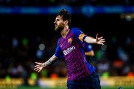 Barcelona pimpin klasemen sementara Liga Spanyol