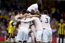 Manchester United berhasil kalahkan tuan rumah Watford
