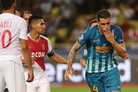 Sempat tertatih-tatih, Atletico Madrid berhasil taklukkan AS Monaco