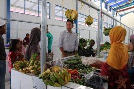 Pasar terbesar di Barut terus dikembangkan