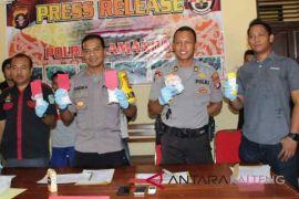Polres Lamandau gagalkan pendistribusian narkoba lintas Provinsi