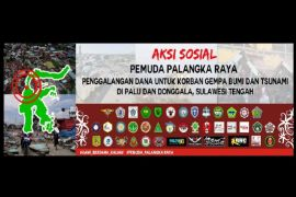 43 Ormas galang dana untuk korban gempa-tsunami di Sulteng