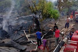 Rumah warga di Desa Gohong terbakar, berikut keterangan polisi