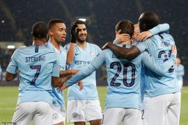 Manchester City pimpin Grup F Liga Champions