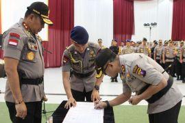 Tiga kapolres di Kalteng dijadwal ulang serah terima jabatan baru