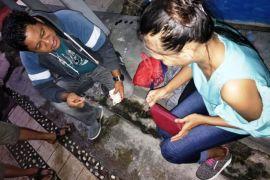 Perempuan kurir sabu-sabu asal Kalbar ditangkap di Sukamara